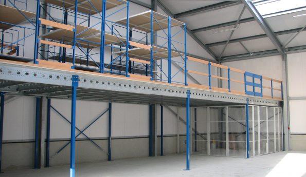 Lagerbühne-Mehrgeschossanlagen